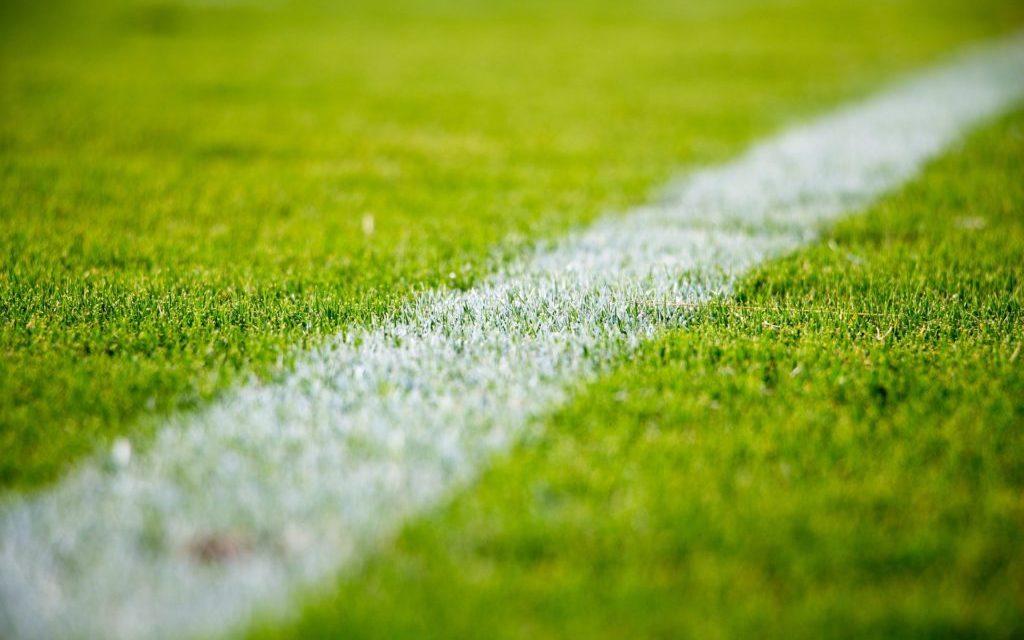 lijn voetbalveld