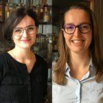 Lizah van der Aart en Anne van der Meij