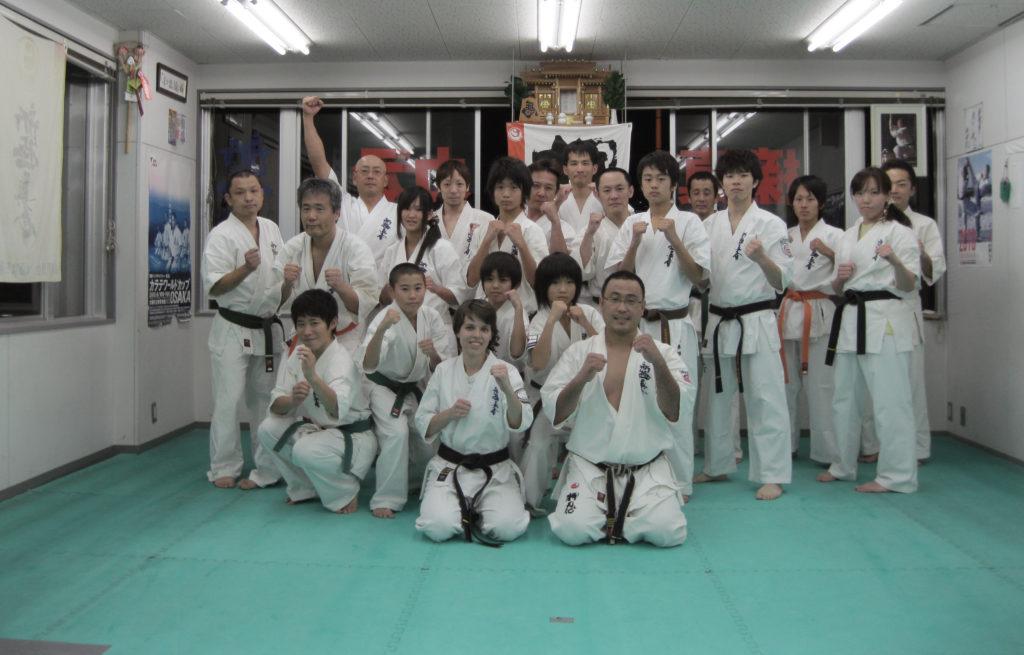 Karate in Osaka