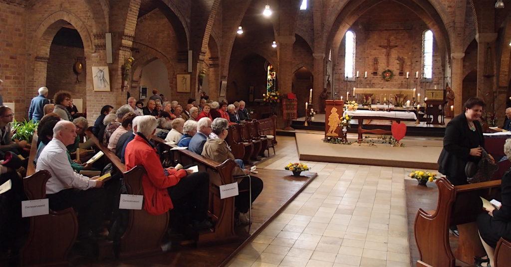 Afscheidsviering in de Jacobuskerk, Utrecht