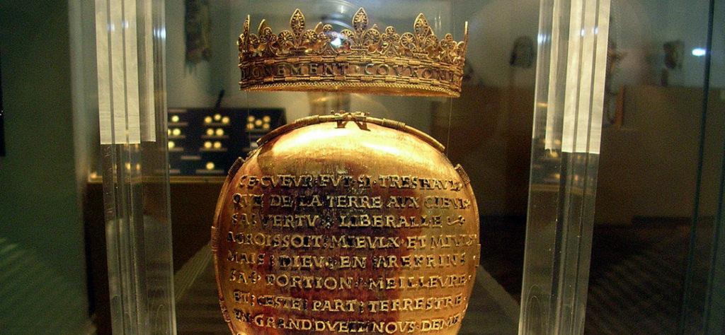 Het gouden hart van Anna van Bretagne in het Dobrée Museum in Nantes