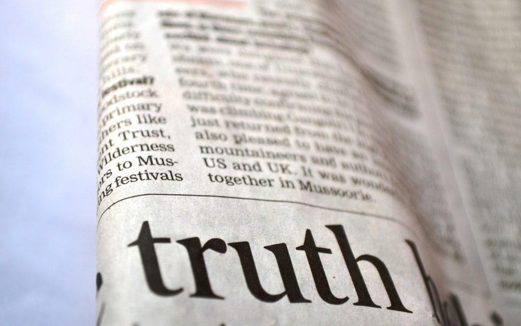 De waarheid in een Engelse krant