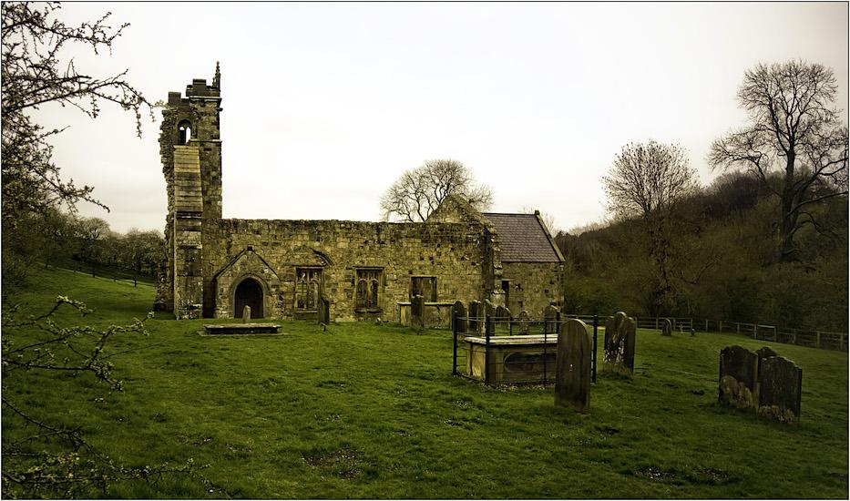 St. Martin in Wharram Percy, Yorkshire