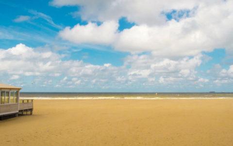 zee, strandhuis, strand