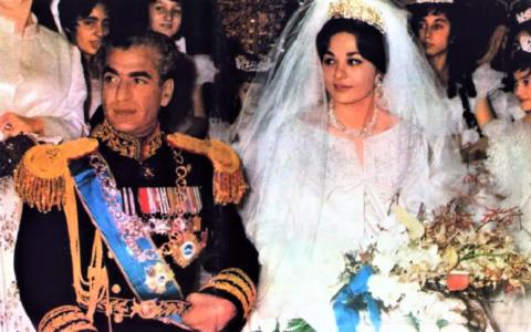 De bruiloft van Farah Diba