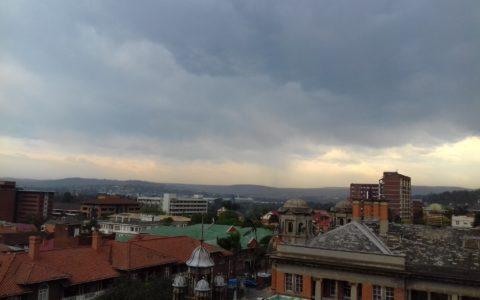Pietermaritzburg in de lente.