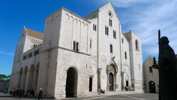 De Sint Nicolaasbasiliek in Bari