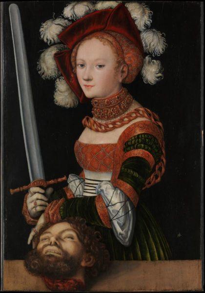 """Lucas Cranach de Oudere, """"Judith"""""""