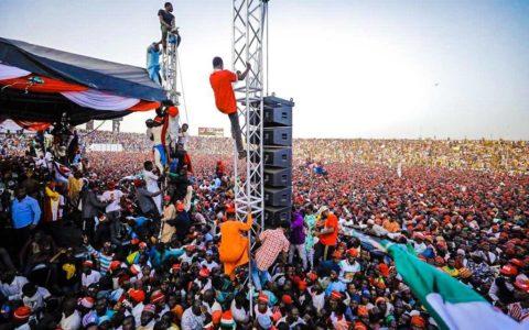 Verkiezingscampagne in Nigeria