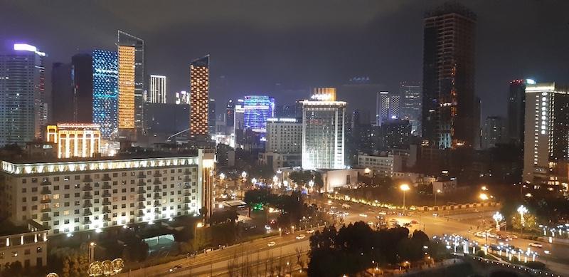 Skyline van Chengdu