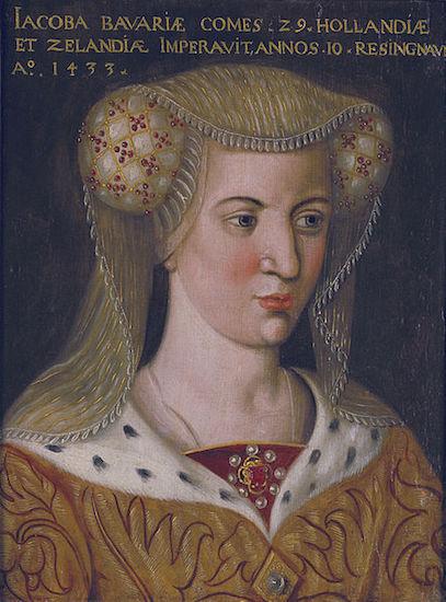 Portret Jacoba van Beieren