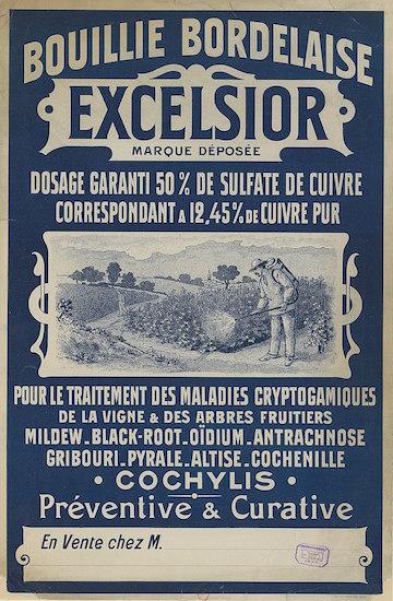 Bouillie Bordelaise in de wijnbouw