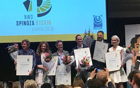 Laureaten Spinozapremie en Stevinpremie 2019