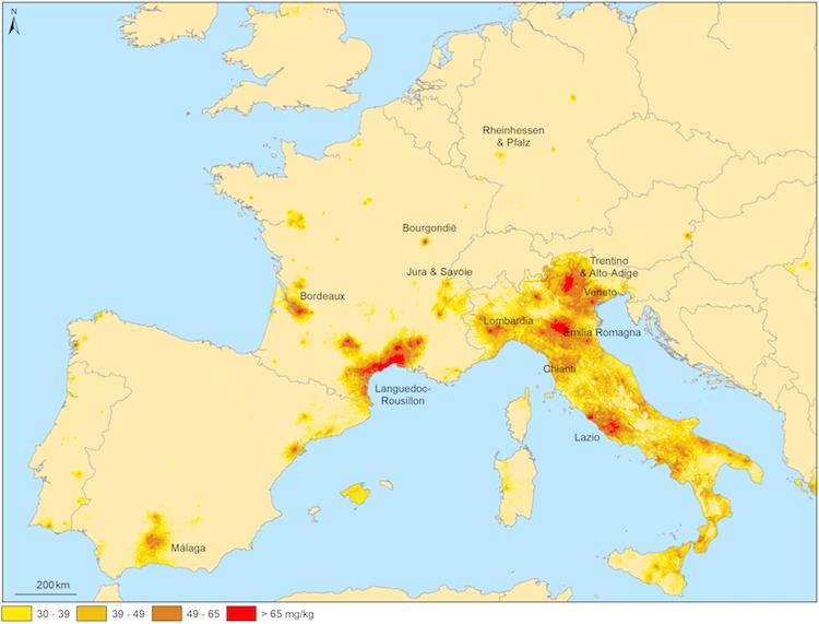 Wijngaarden in de EU