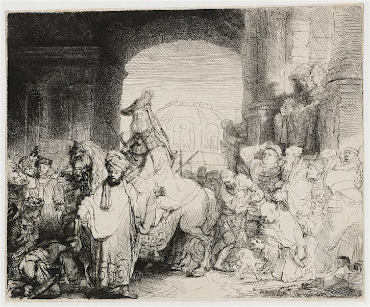 Rembrandt Mordechai