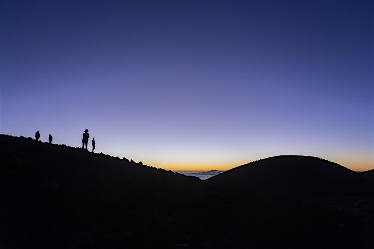 Hawaii Spectaculaire zonsondergang