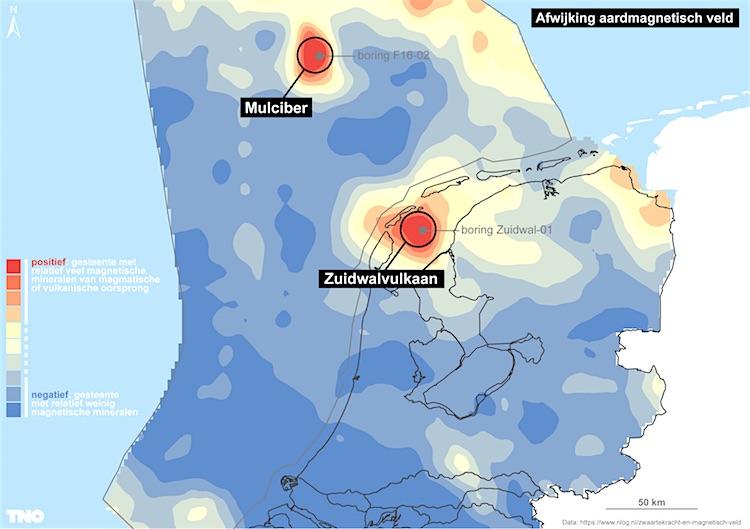 Figuur 2: aardmagnetisch veld