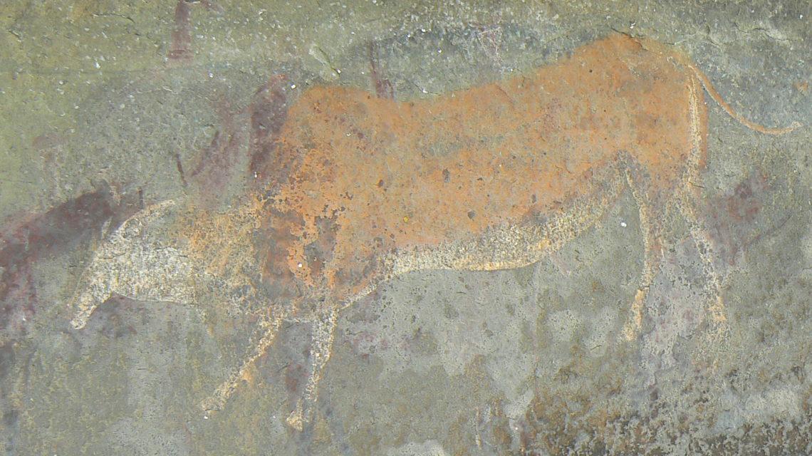 Rotstekening Elandantilope
