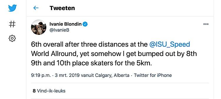 Tweet Blondin