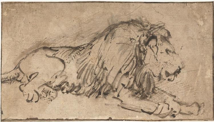 De leeuw van Rembrandt