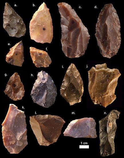 Stenen werktuigen