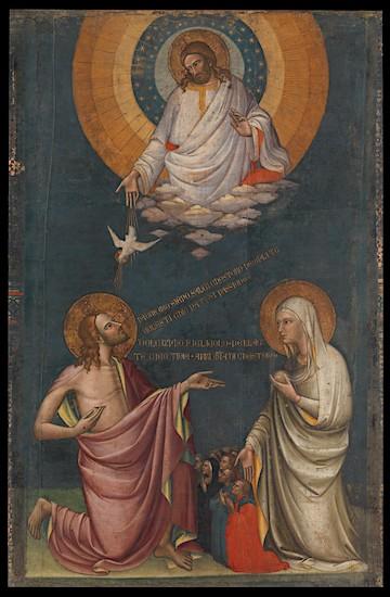 De voorspraak van Christus en Maria