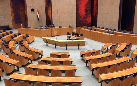 Plenaire zaal Tweede Kamer